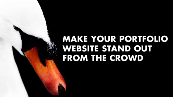 how to make your portfolio website stand out from the